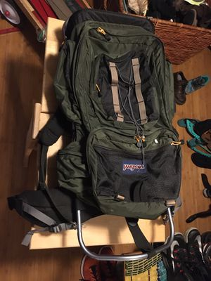 Jansport external frame backpacking ruck for Sale in Portland, OR