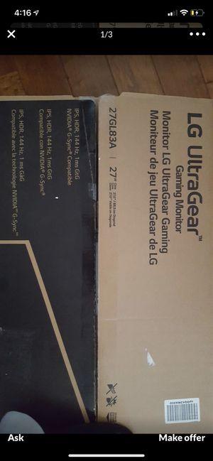 LG UltrGear monitor for Sale in Huntington Park, CA