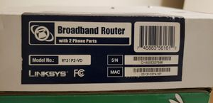 Linksys Router RT31P2-VD for Sale in Miami, FL