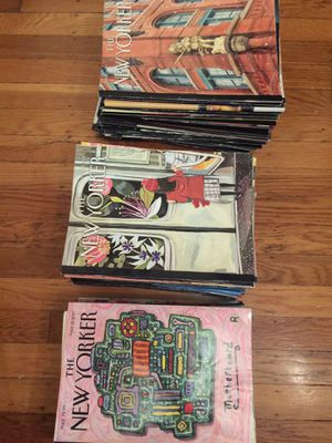 New Yorker Magazines 2017-2019 for Sale in San Francisco, CA