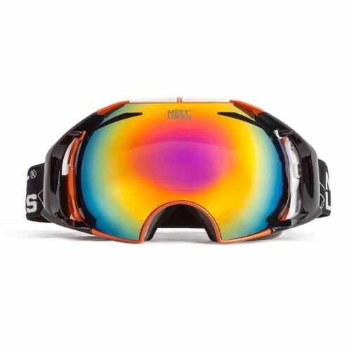 MEETLOCKS SNOW GOGGLE UV400 FOR SKIING SNOWBOARDING SNOWMOBILE EYEWEAR