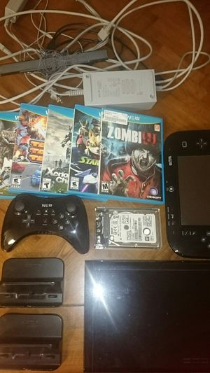 Nintendo Wii U + Accessories & Games for Sale in Hillsboro, OR