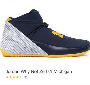 Jordan Why Not Zer0.1 Michigan for Sale in Fayetteville, GA
