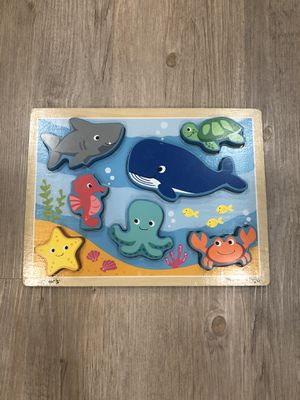 Chunky Sea Life Puzzle for Sale in Livermore, CA