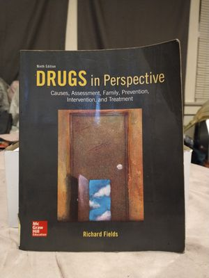 College Book DRUGS IN PERSPECTIVE By Richard Fields for Sale in Grover Beach, CA