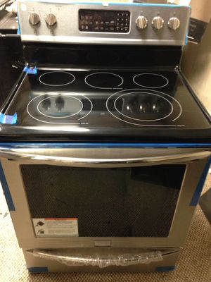 "Stainless Steel New 3 Piece Kitchen Appliance / Fridge 36"", Stove 30"", Dishwasher 24"" for Sale in North Haledon, NJ"