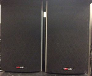 Polk Audio M10 bookshelf Speakers in excellent condition !! for Sale in St. Louis, MO