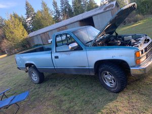 1989 Chevy Silverado 2500 with Accessories for Sale in Olympia, WA