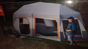 10person tent with LED lights built in for Sale in Grand Terrace, CA