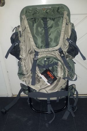 Brand new Field & Stream 50 Liter External Frame Backpack for Sale in Monterey Park, CA