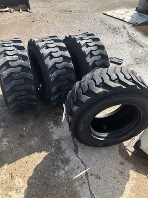 Bobcat tires 12/16.5 or 10/16.5 for Sale in Fairmont City, IL