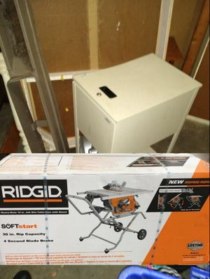 Brand new in the box rigid table saw for Sale in Powdersville, SC