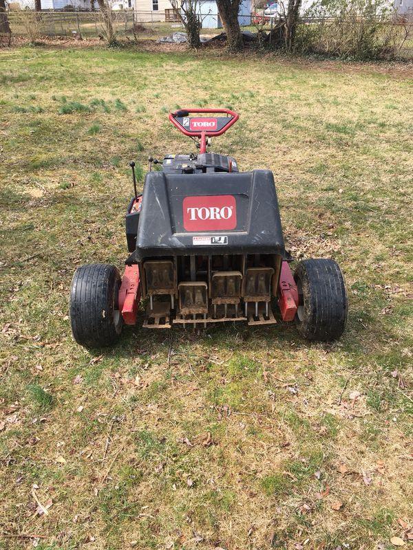 Toro aerator