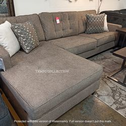 NEW IN THE BOX. FLINTSHIRE BROWN RIGHT-ARM FACING CHAISE SECTIONAL, SKU# TC25003-66-17 for Sale in Santa Ana,  CA