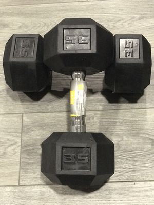 2 - 35 pound dumbbells- Brand New for Sale in Massillon, OH