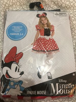 Minnie Mouse Costume 3-4T for Sale in Aventura, FL