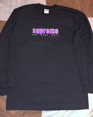 "Medium Long Sleeve Supreme ""The Real Sh*t"" Shirt for Sale in St. Louis, MO"