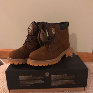 Steel Toe Work Boots for Sale in Streamwood, IL