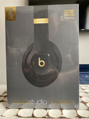Beats studio 3 wireless headphones- Midnight black for Sale in New York, NY
