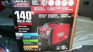 New in Sealed Box Lincoln Electric 140 HD Weld Pak Welder for Sale in Canton, MI