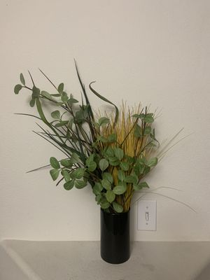 Cute fake plant decor with vase for Sale in Vancouver, WA