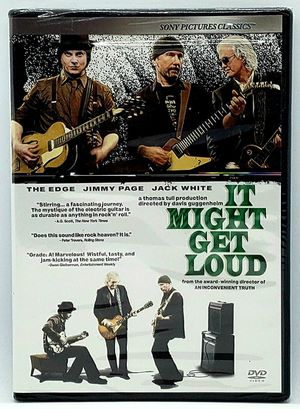It Might Get Loud (DVD, 2009) The Edge Jimmy Page Jack White NEW Factory Sealed for Sale in Harrisonburg, VA