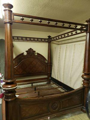 Marble top/Solid wood bedroom set for Sale in Lynwood, CA