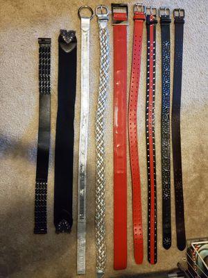 Juniors/young women's belts for Sale in Alafaya, FL