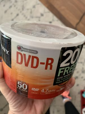 NEW 50 pack DVD-R for Sale in Coral Springs, FL