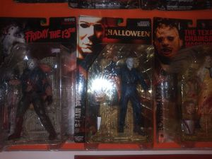 McFarlane Toys Movie Maniacs Horror Action Figures 3 Set for Sale in South San Francisco, CA