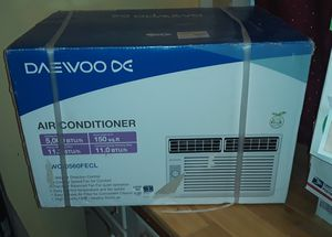 Daewoo 5000BTU AC Unit w/ support bracket for Sale in Carmichael, CA