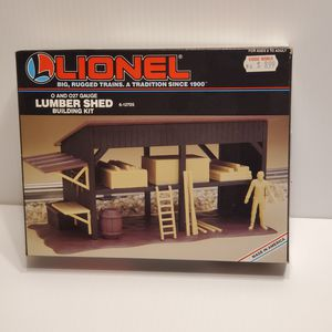 Lionel Lumbershed 6-12705 building kit. New, never been used. Made and Litho in USA. @1994 for Sale in San Jose, CA