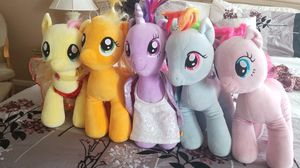 My little pony stuffed animals for Sale in Plainfield, IL