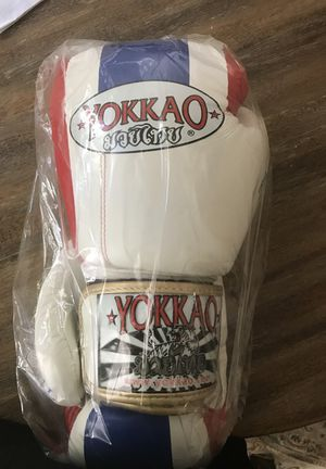Yokkao Boxing Gloves Real Leather 10oz. for Sale in San Diego, CA