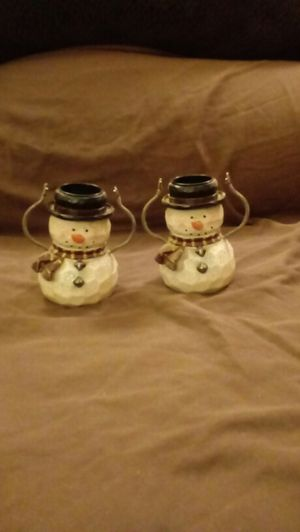 Snowman Tea Light Holders for Sale in OH, US