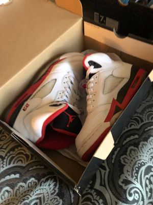 Nike Air Jordan 5 Retro | Fire Red 2013 Release for Sale in Litchfield Park, AZ