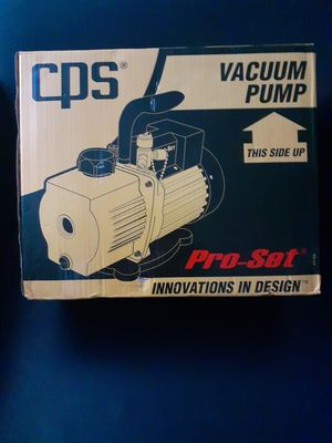 Pro Set Vaccum Pump Vp6d for Sale in Tacoma, WA