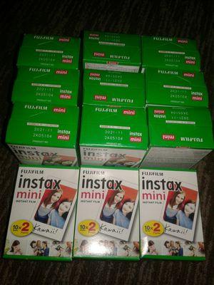 Fujifilm instax mini film cheap for Sale in Phoenix, AZ