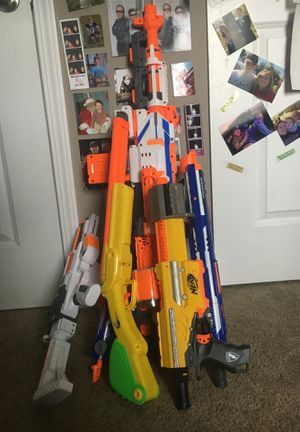 7 nerf guns for Sale in Vandalia, OH