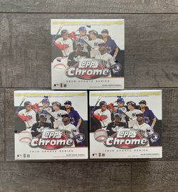 MLB Chrome Updates Holiday Baseball Trading Card Mega Box for Sale in Modesto,  CA