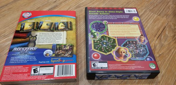 The Sim's Carnival and The Wizard's Pen PC Games - New!