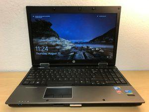Hp ellitebook 8540w i7 Quad 2.6G 4GB Ram Windows 10 pro laptop for Sale in Fontana, CA