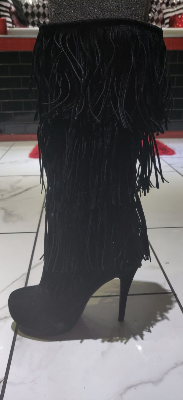 Western Fringed Boots