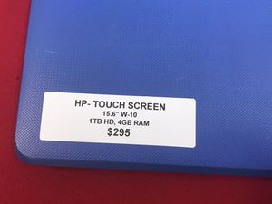 """HP TOUCHSCREEN 15.6"""" laptop for Sale in Katy, TX"""