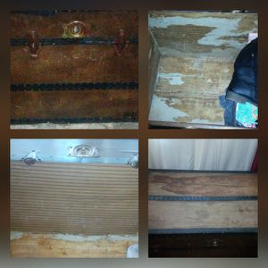 Vintage wooden trunk for Sale in Lynchburg, VA