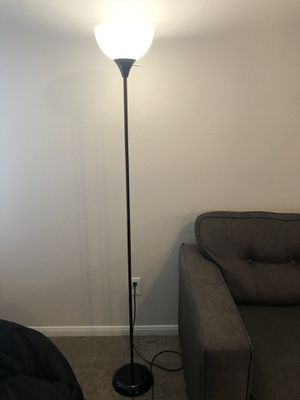Floor Lamp with bulb about 6ft for Sale in Frisco, TX