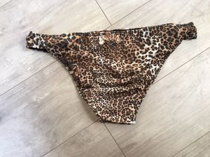 Men Sexy Triangle Leopard Print Briefs Low Waist Breathable Elastic for Sale in Davenport, FL