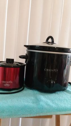 Crock pot one large one small for Sale in Ontario,  CA