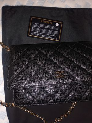 Brand new Chanel clutch with certification for Sale in Clayton, CA