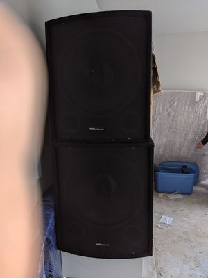 Speakers for dj everything you need and couple little speakers too everything for 500 for Sale in Dallas, TX
